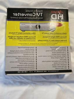 Access HD Digital to Analog TV Converter With Dedicated Remo