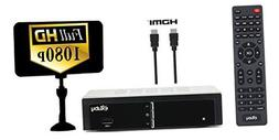 Exuby Digital Converter Box for TV w/ Antenna and HDMI Cable