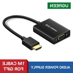 Ugreen Active HDMI to VGA Adapter Converter 1080P with Audio