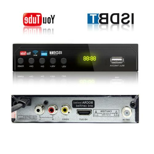 digital isdb t tuner for south america