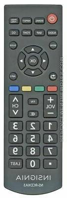 nsrcdxa3 digital tv tuner converter box remote