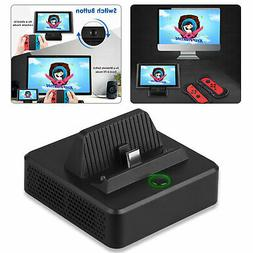 TV Switch HDMI Converter Charging Station Cooler Stand For N