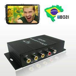 South American Car Mobile ISDB-T Tuner Digital Converter Box