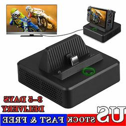 TV HDMI Converter Adapter Charging Dock Station Cooler Stand