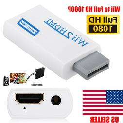 Wii to HDMI Wii 2 HDMI Full HD FHD 1080P Converter Adapter 3